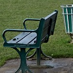 Thumbnail: a park bench